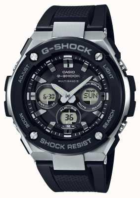Casio G-Shock G Stahl Midsize Alarm Chrono schwarz GST-W300-1AER