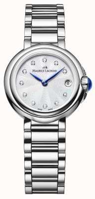 Maurice Lacroix Frauen fiaba 28mm Diamantarmbanduhr FA1003-SS002-170-1