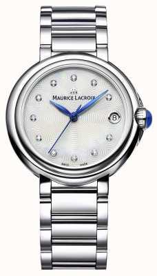 Maurice Lacroix Frauen fiaba 32mm Diamantarmbanduhr FA1004-SS002-170-1