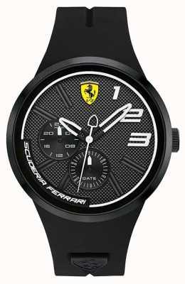 Scuderia Ferrari Fxx schwarzes Zifferblatt 0830472