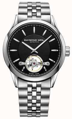Raymond Weil Mens Freelancer automatische Stahl Armband 2780-ST-20001