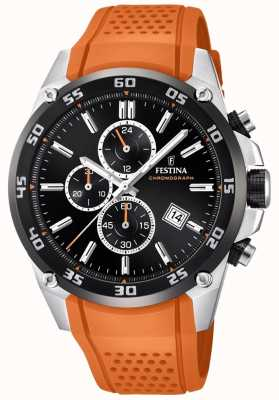 Festina Mens Originale Tour von Großbritannien 2017 Orange F20330/4