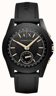 Armani Exchange Mens verbundene Hybrid-Smartwatch in schwarz AXT1004