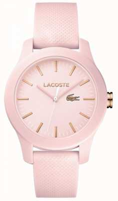 Lacoste Womans 12.12 Uhr pink 2001003