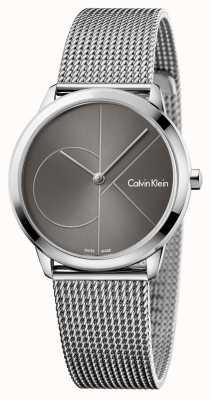 Calvin Klein Womans minimales graues Zifferblatt K3M22123