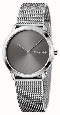 Calvin Klein Womans minimales graues Zifferblatt K3M221Y3