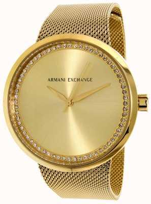 Armani Exchange Womans liv Edelstahl AX4502