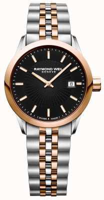 Raymond Weil Womens Freelancer Quarzuhr zwei Ton Armband 5629-SP5-20021