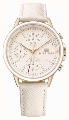 Tommy Hilfiger Damen Roségold mit rosa Armband 1781789
