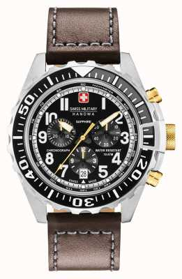 Swiss Military Hanowa Mens Touchdown Chronograph Edelstahlgehäuse 06-4304.04.007.05