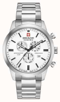 Swiss Military Hanowa Herren Chrono Classic Edelstahl Zifferblatt 06-5308.04.001