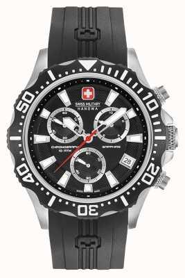 Swiss Military Hanowa Herren Patrol Chronograph mattschwarzes Zifferblatt 06-4305.04.007