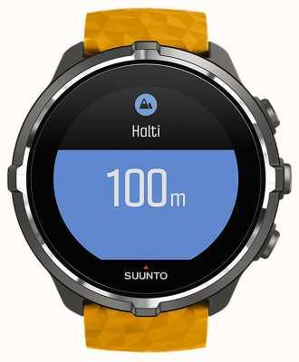 Suunto Spartanisches Sportherzfrequenzmonitorbarometer bluetooth Uhr SS050000000