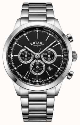 Rotary Mens Cambridge Chronograph Edelstahl GB05253/04