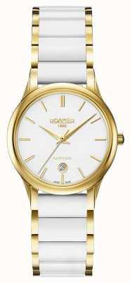 Roamer Damen C-Line weiße Keramik Uhrengehäuse 657844482560
