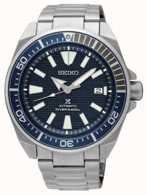 Seiko Prospex Samurai Automatik 200m blaues Zifferblatt SRPB49K1