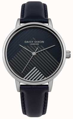 Daisy Dixon Blaues Armband mit matt gestreiftem Zifferblatt DD056US