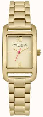 Daisy Dixon Goldarmband gold satiniert Zifferblatt DD057GM