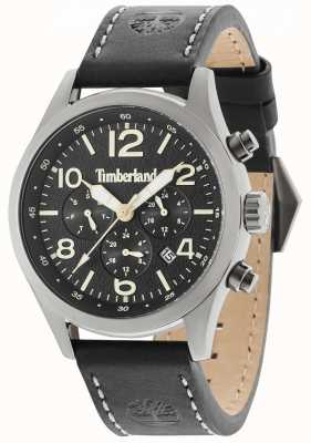 Timberland Ashmont schwarzes Lederarmband schwarz Multi-Dial 15249JSU/02