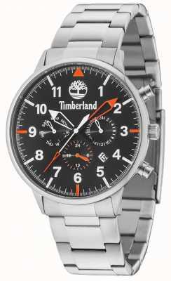 Timberland Spaulding schwarzes Multidial Silberarmband 15263JS/02M