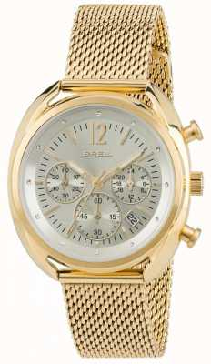 Breil Beaubourg Edelstahl ipr Chronograph Silber Zifferblatt TW1676