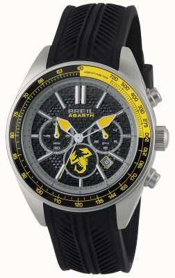 Breil Abarth Edelstahl ip schwarz Chronograph schwarz & gelb TW1691