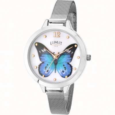Limit Womens Geheimnis Garten Schmetterling Mesh Uhr 6269.73