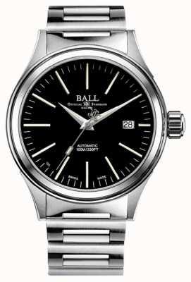 Ball Watch Company Feuerwehrmann automatisch 40mm schwarzes Zifferblatt NM2098C-S20J-BK