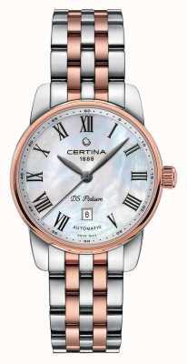 Certina | ds podium | Dame automatisch | zweifarbiges Armband | C0010072211300