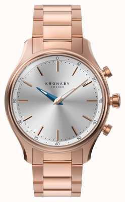 Kronaby 38mm sekel bluetooth roségold metall armband a1000-2747 S2747/1
