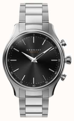 Kronaby 38mm sekel bluetooth stahl metallarmband smartwatch A1000-2750