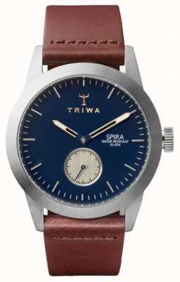 Triwa Duke Spira braun klassisches Silber SPST104-CL010212