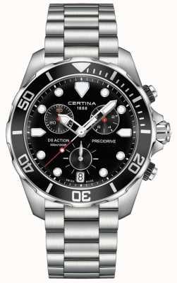 Certina Herren ds action précidrive Chronograph schwarz Uhr C0324171105100