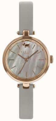 Radley Ladies 28mm Gehäuse grau Zifferblatt Esche Lederband RY2658