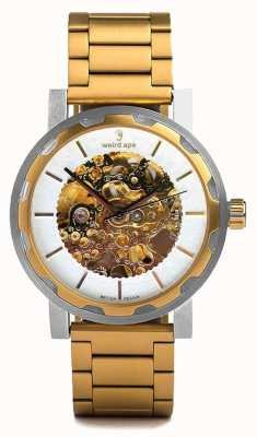 Weird Ape Kolt automatische Gold IP Armband Edelstahlgehäuse WA02-005527