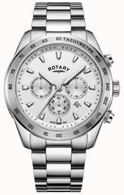 Rotary Herren Henley Chronograph Armband aus Edelstahl GB05115/06