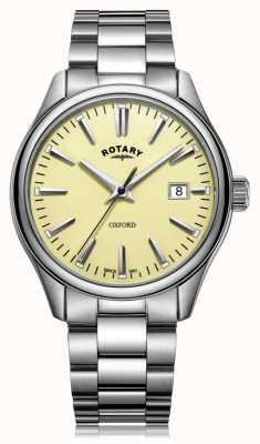 Rotary Herren Oxford Armband aus Edelstahl GB05092/32