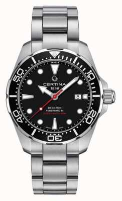Certina Herren ds action diver powermatic 80 Automatikuhr C0324071105100