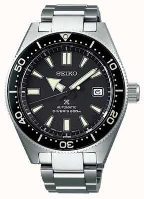 Seiko prospex Taucher Erholung schwarz Zifferblatt automatische Uhr SPB051J1