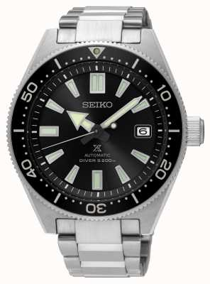 Seiko Prospex Taucher Erholung schwarzes Zifferblatt automatische Uhr SPB051J1