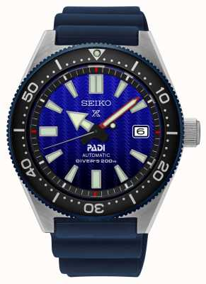 Seiko Prospex Padi Erholung blaues Zifferblatt blaues Harzarmband SPB071J1