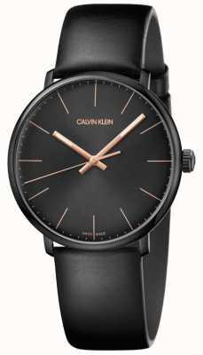 Calvin Klein Mens High Noon Uhr minimalistisch K8M214CB