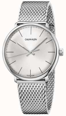 Calvin Klein Men's High Noon Edelstahl Mesh Uhr K8M21126