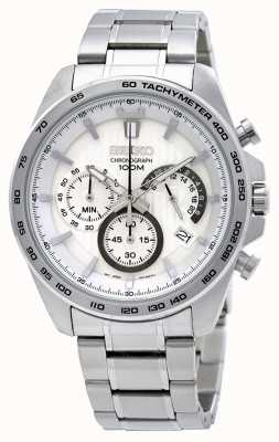 Seiko Herren Edelstahl Chronograph Uhr SSB297P1