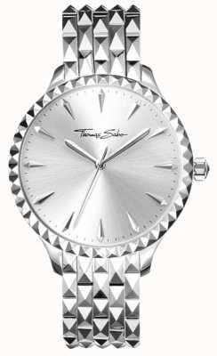 Thomas Sabo Reflektierendes Silberarmband und -kasten für Frauen WA0318-201-38