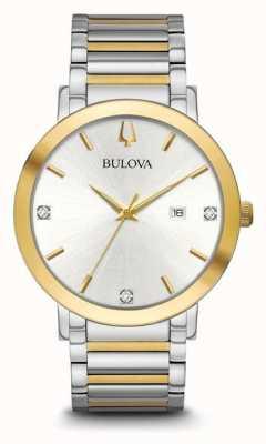 Bulova Herren zweifarbiges Armband 98D151