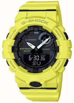 Casio G-Schock Bluetooth Fitness Schritt Tracker gelben Gurt GBA-800-9AER