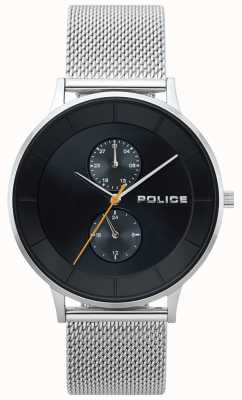 Police Berkeley Steel Mesh Herrenuhr 15402JS/02MM