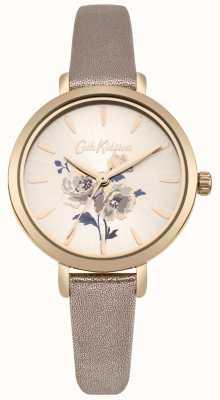 Cath Kidston Damen Island Bunch Metallic Roségold Armbanduhr CKL049RG