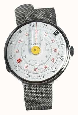 Klokers Klok 01 gelb Uhrenkopf Milano Stahlband KLOK-01-D1+KLINK-05-MC1